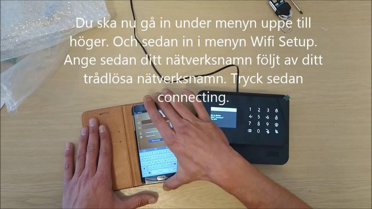 koppla in wifi