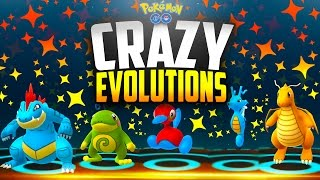 pokemon go crazy evolutions rarest pokemon go gen 2 evolutions