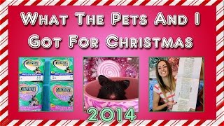 ❄ What the pets (and I) got for Christmas 2014 ❄ Thumbnail