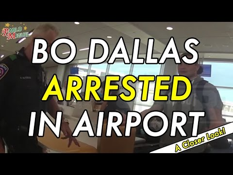 Bo Dallas Arrested At Airport! | Drunk Video