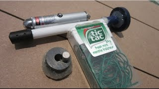How-to Make a Magnet Gun -  EASY