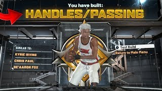 "FIRST LEGEND ""HANDLES/PASSING"" BUILD IS A GLITCH ON NBA2K20(RARE)"
