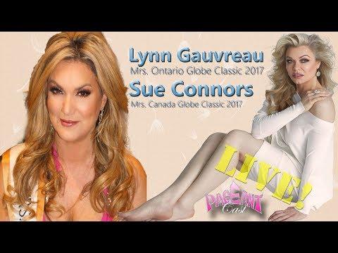 Lynn Gauvreau, Mrs. Ontario Globe Classic 2017 and Sue Connors, Mrs. Canada Globe Classic 2017
