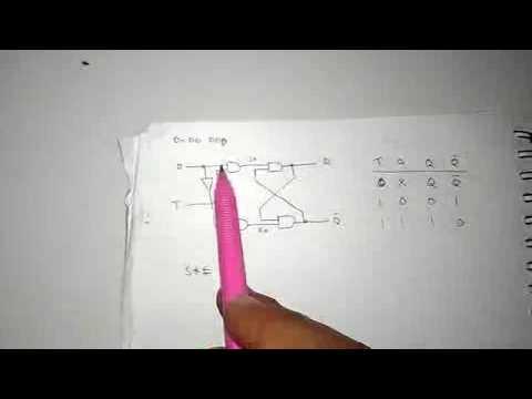 Rangkaian D Flip-Flop Pembuktian Part 1 - YouTube