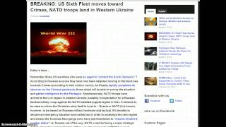 WW3? Breaking! US Sixth Fleet Races Towards Black Sea! NATO Troops Land In Ukraine!