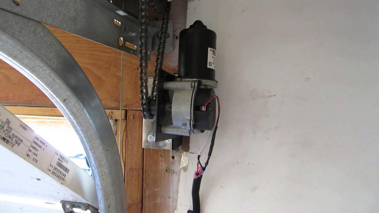 Genie Chainmax 1000 Side Mount Conversion Jackshaft Garage Door Opener  Jackshaft   YouTube