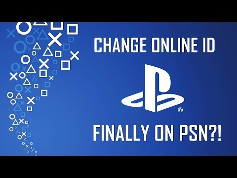 Changing Online Username - Finally Coming to PlayStation?