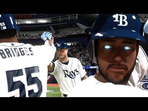 MLB 14 The Show Road to the Show PS4 - WORLD SERIES 3&4 Bridges Does the Unthinkable! MONSTER Born