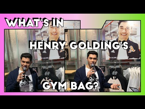 What Are Henry Golding's 3 Must-Haves At The Gym? We Find Out! | CLEO Events | CLEO Malaysia