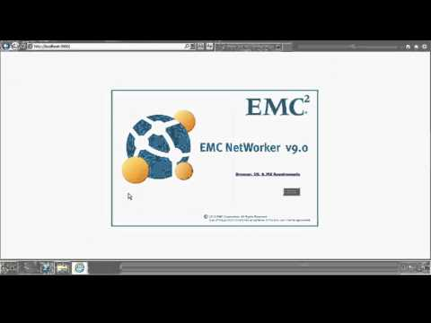 EMC Networker 9   Installation