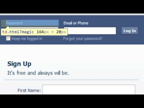 how to find the facebook password of someone