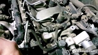 Звук от изношенного привода ТНВД Hyundai Santa Fe 2.2 CRDI