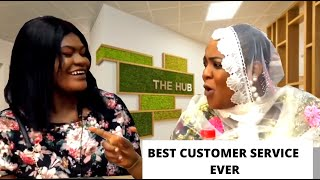 ALHAJA PERFORMED MAGIC WITH HER CUSTOMER
