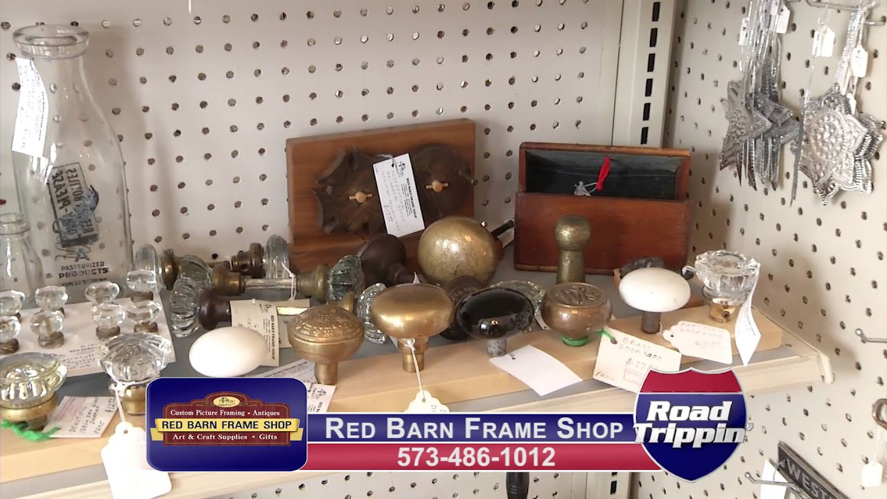 Red Barn Frame Shop - YouTube