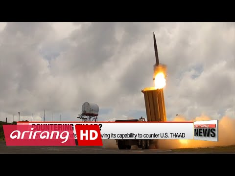 China to develop own missile defense system