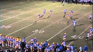 Josh Abrams 2010 Football Highlights