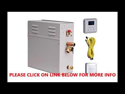 ELITE STEAM 10 KILOWATT Luxury Home Steam Shower System
