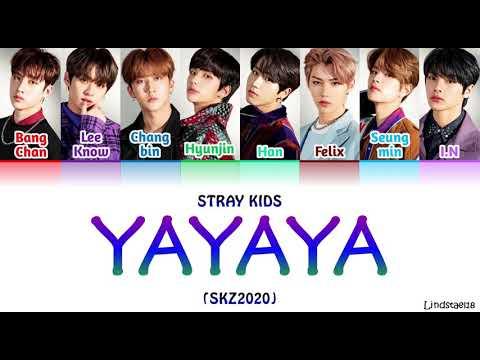 """Stray Kids """"YAYAYA"""" (SKZ2020) Colorcodedlyrics Han-Rom-Eng"""