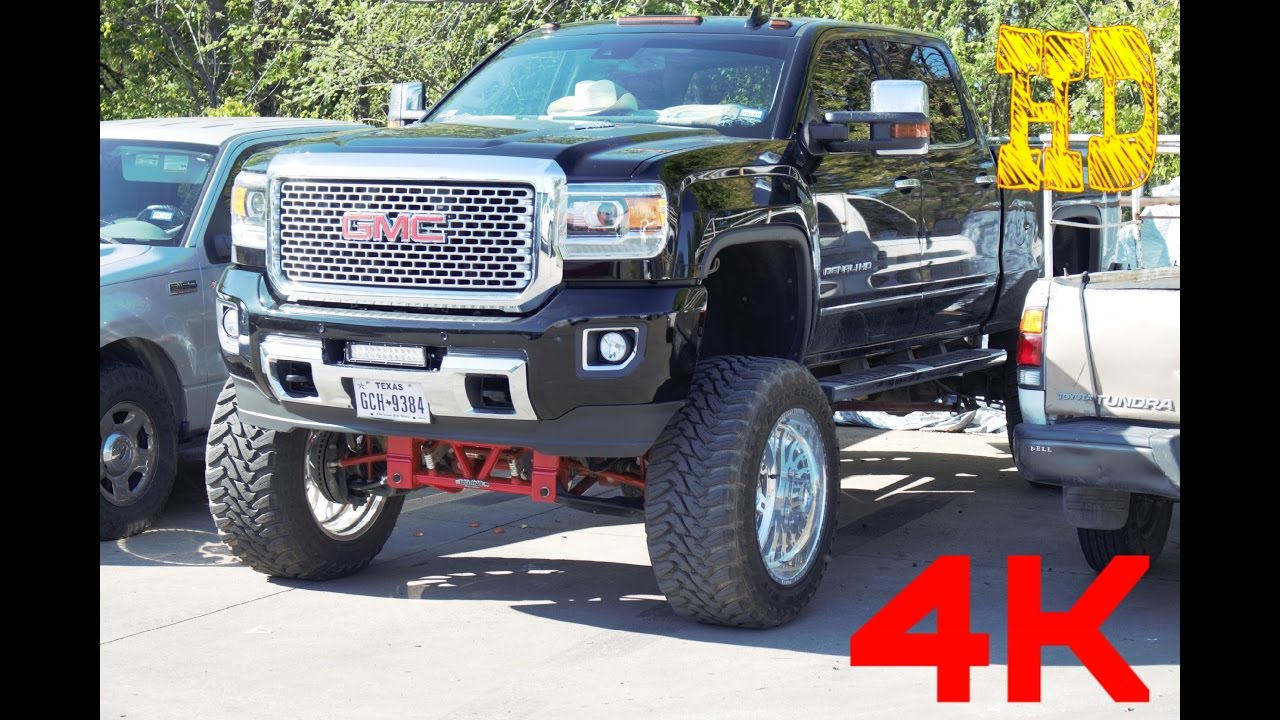 2016 Gmc Denali 2500 >> 2015 Best Lifted Custom GMC SIERRA DENALI Truck 2500 Work TRUCK HD - YouTube