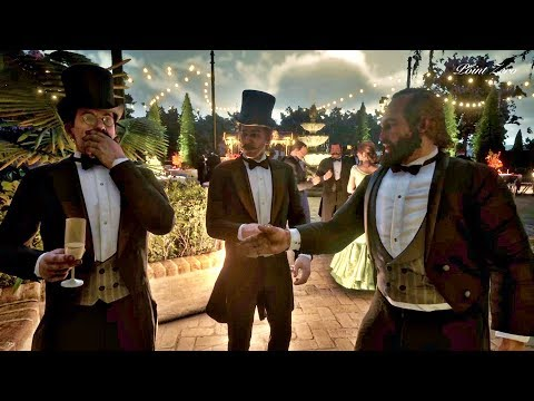 Bill's Awkward Conversation at the Mayor's Party / Red Dead Redemption 2 thumbnail