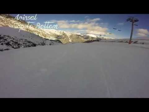 Arinsal top to bottom in 7 minutes