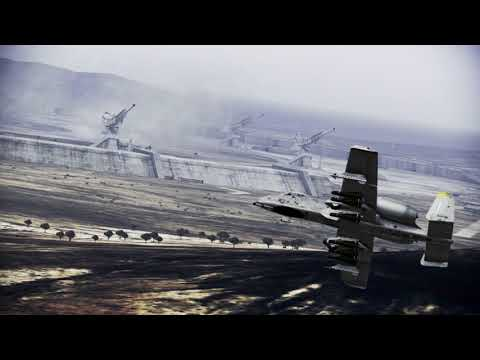 Stonehenge - Ace Combat Infinity Mission Dialogue