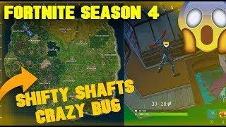 FORTNITE SEASON 4 | CRAZY BUG | SHIFTY SHAFTS