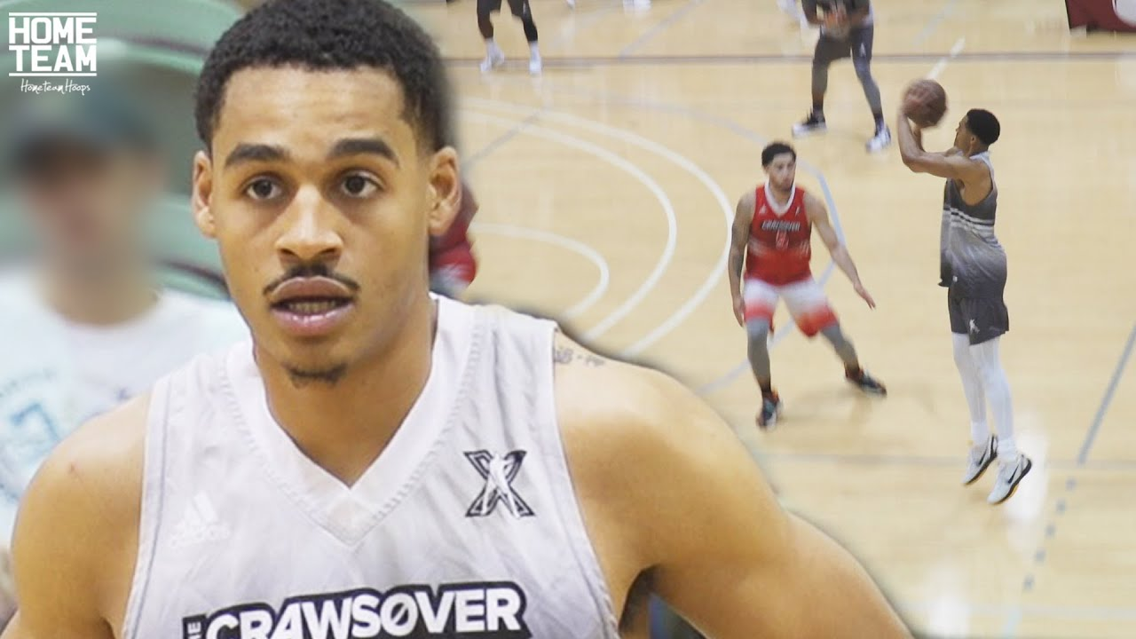 Jordan Poole BACK AT IT! SHOWS OUT in 2nd Game at The Crawsover Pro Am