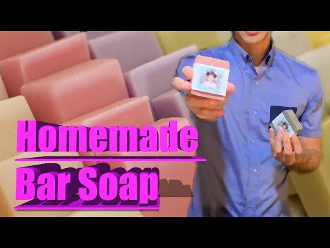 Easy Olive & Coconut Oil Bar Soap Recipe