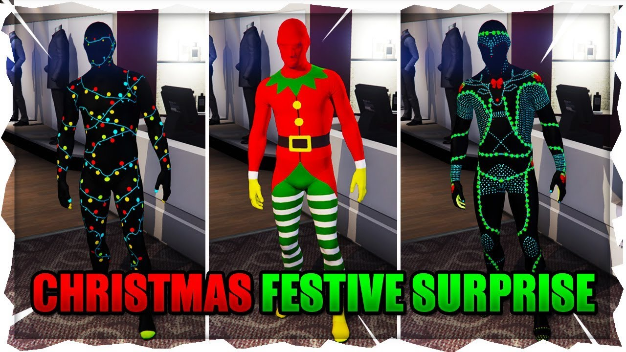Gta 5 Online Christmas Masks.Gta Online Festive Surprise Dlc 2018 All New Clothes And Masks Christmas Dlc 2018