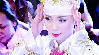 hát văn hầu đồng hay nhất 2016 cô đồng xinh nhất hầu giá chúa Thác Bờ Tại Tây Thiên Linh Từ