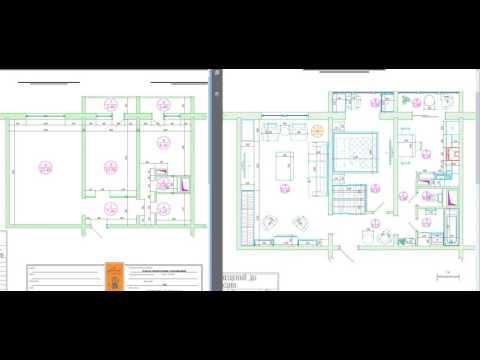 Перепланировка двухкомнатной квартиры в доме серии П-46М
