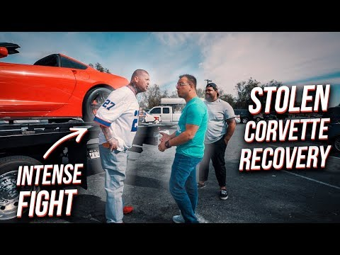 Crazy Man STEALS my Corvette! *INTENSE FIGHT to get it back*