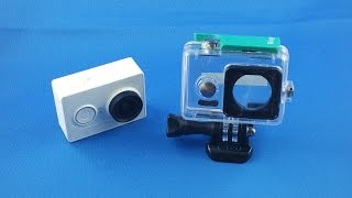✅ 5$ Xiaomi Yi Cam Waterproof Housing Case AliExpress Unboxing euro app