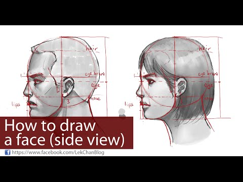 how-to-draw-a-face-(side-view)