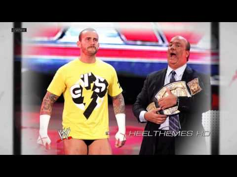 2011/2012: CM Punk 2nd WWE Theme Song -
