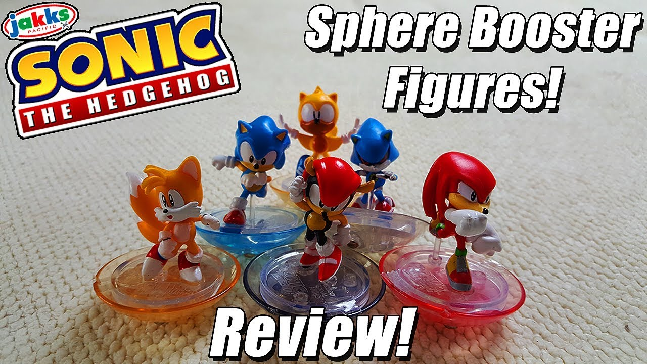 Jakks Pacific Sonic The Hedgehog Sphere Booster Review Youtube