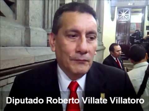 Resultado de imagen para diputado Roberto Villate