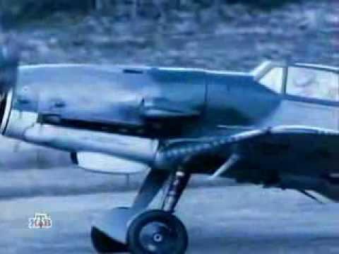 Военное дело Истребитель Messerschmitt Bf 109 - YouTube