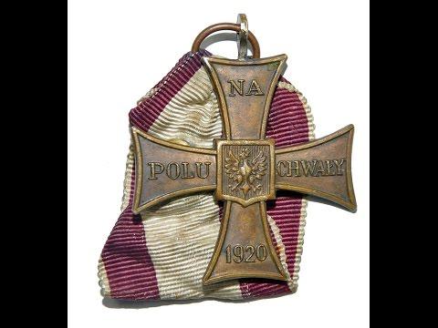 Krzyż Walecznych PSZ wersja palestyńska