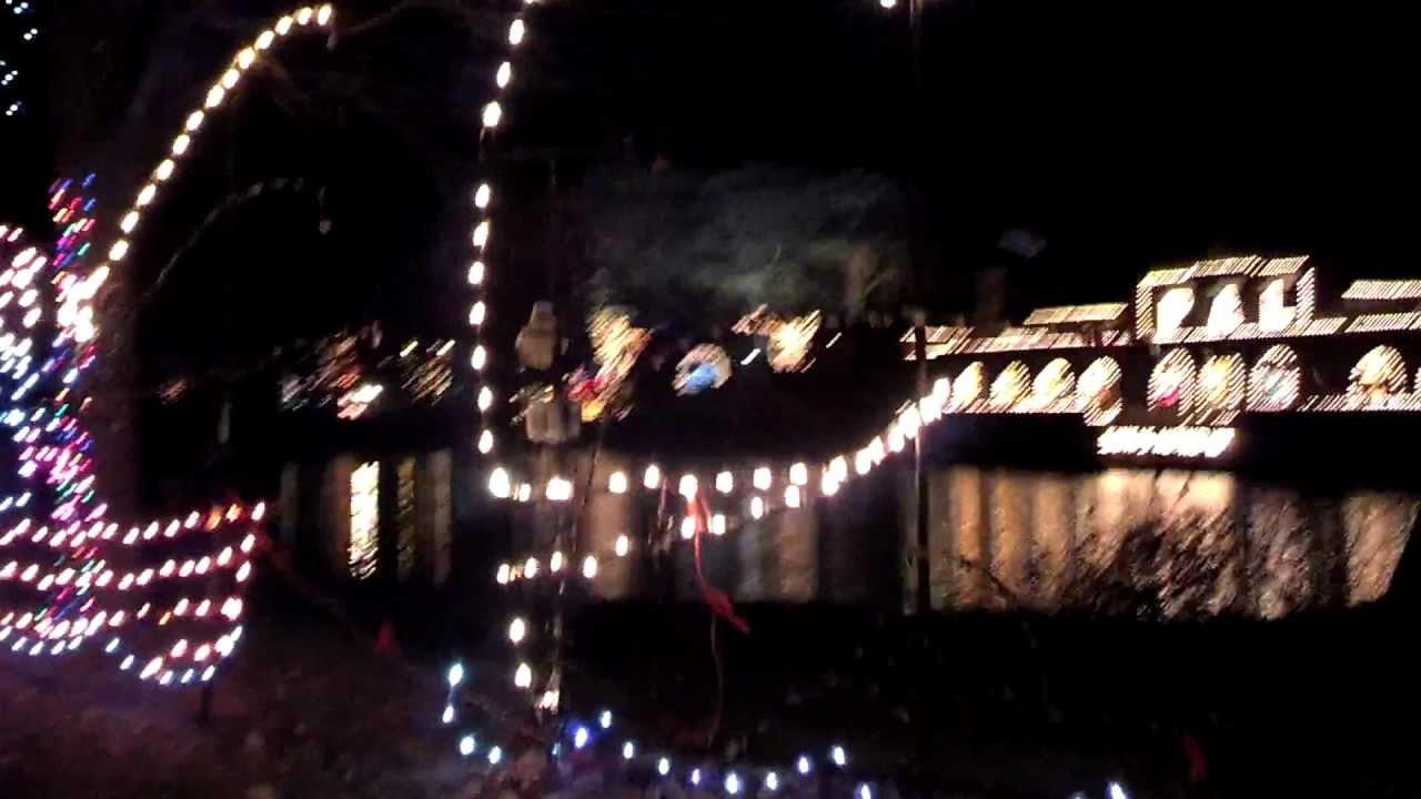 Washington Park, Albany, NY-(part 1) - Christmas Lights 2012 - HD ...