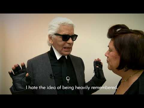 Karl Lagerfeld divulges how he would like to be remembered  - Suzy Menkes, Vogue International