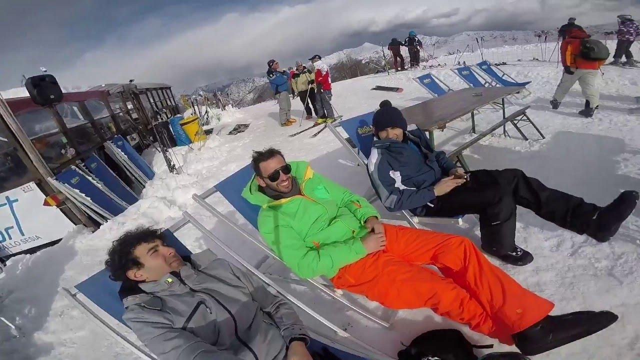 Champoluc skiing 2016