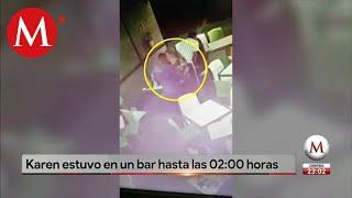 Difunden video de Karen Espíndola en un bar de Villa Coapa