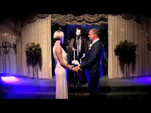 Lynne & Christian Phantom of the Opera Vow Renewal - Las Vegas Sept 2012