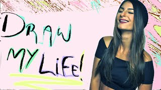 Lufy - DRAW MY LIFE ! Les grands moments de ma vie