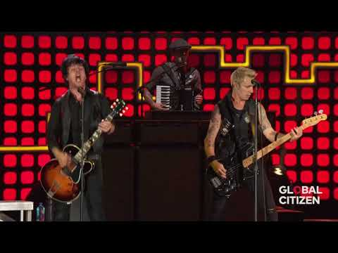 Green Day Minority Live  Global Citizen Festival Central Park NYC 2017-09-23