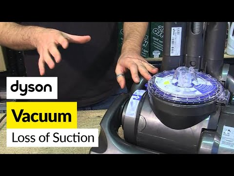 How to fix a loss of suction - Dyson DC33