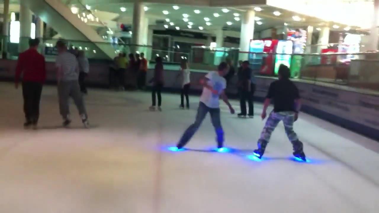 Wee Sparky East kilbride Ice Rink - YouTube