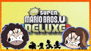 Arin and Dan Screwing Each Other Over in New Super Mario Bros U Deluxe - Game Grumps Compilation
